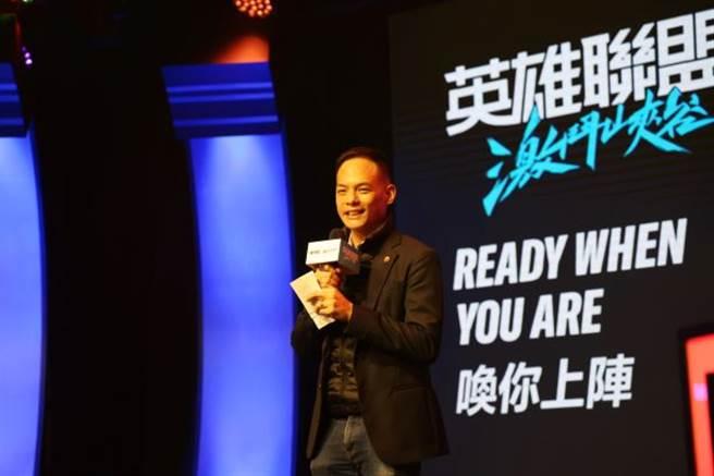 台灣大哥大總經理林之晨致表示,5G時代帶給手遊市場全新的MOBA體驗(圖/台灣大哥大提供)