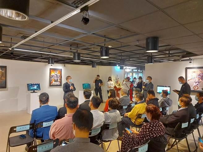 新北市文化局與華夏科技大學數位媒體設計系合作舉辦「華夏科技大學數位電媒創作成果展」,即日起至12月20日在新北市美麗永安藝文中心展出。(華夏科大提供)