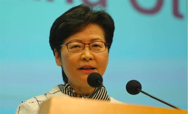 香港特別行政區行政長官林鄭月娥。(本報資料照/新華社)