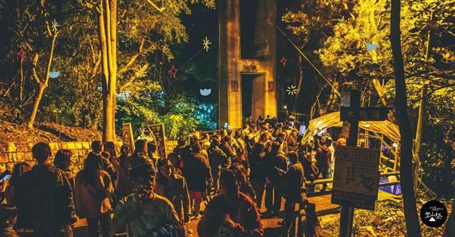 台南市偏鄉龍崎去年首辦「龍崎光節–空山祭」回響熱烈,今年擴大燈節規模並採收費制。(本報資料照片)