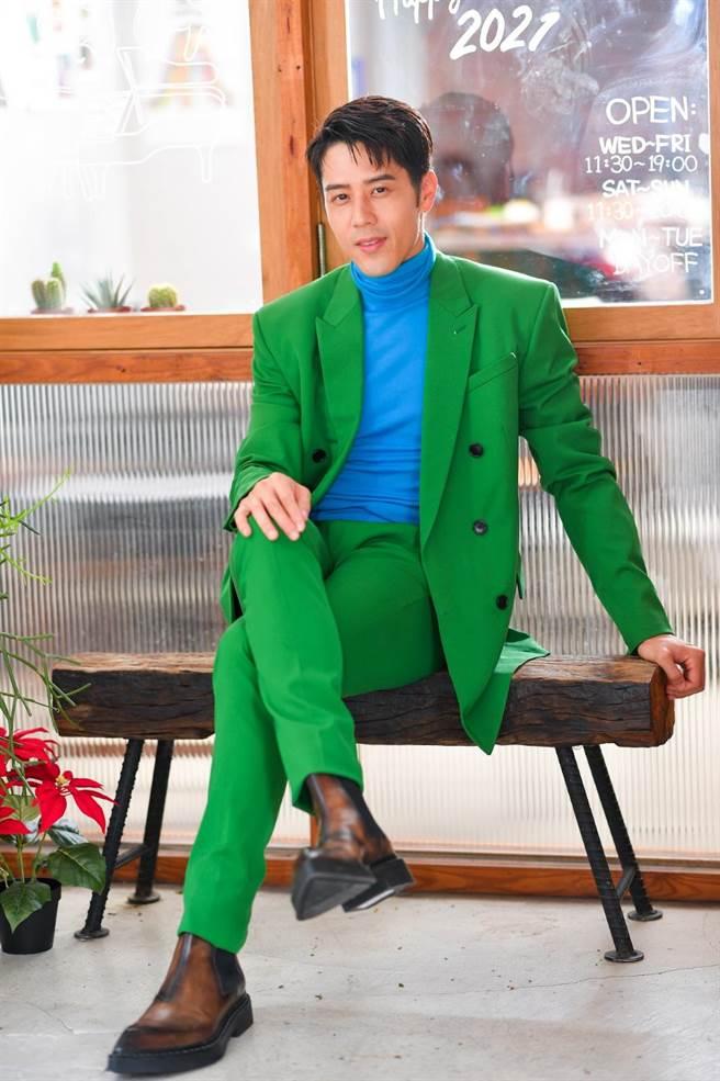 胡宇威主演東森新戲《王牌辯護人》熱播中。(盧禕祺攝)