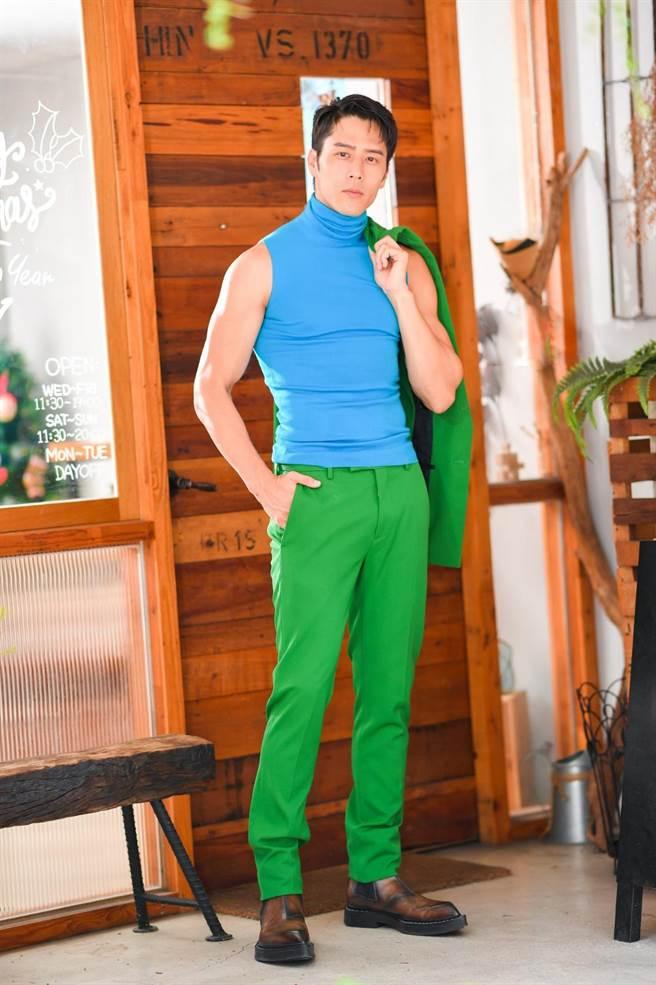 擁有精壯身材的胡宇威,近期在運動競技節目《全明星運動會》帥度爆表。(盧禕祺攝)