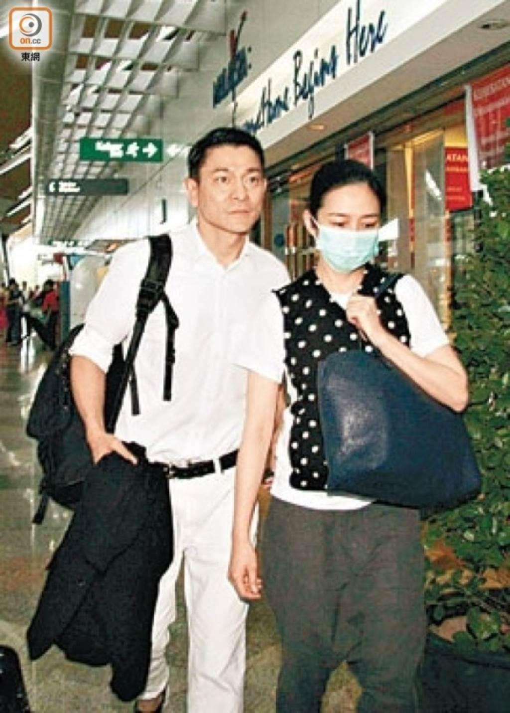 劉德華和太太朱麗倩情牽30年。(圖/取自《on.cc東網》)