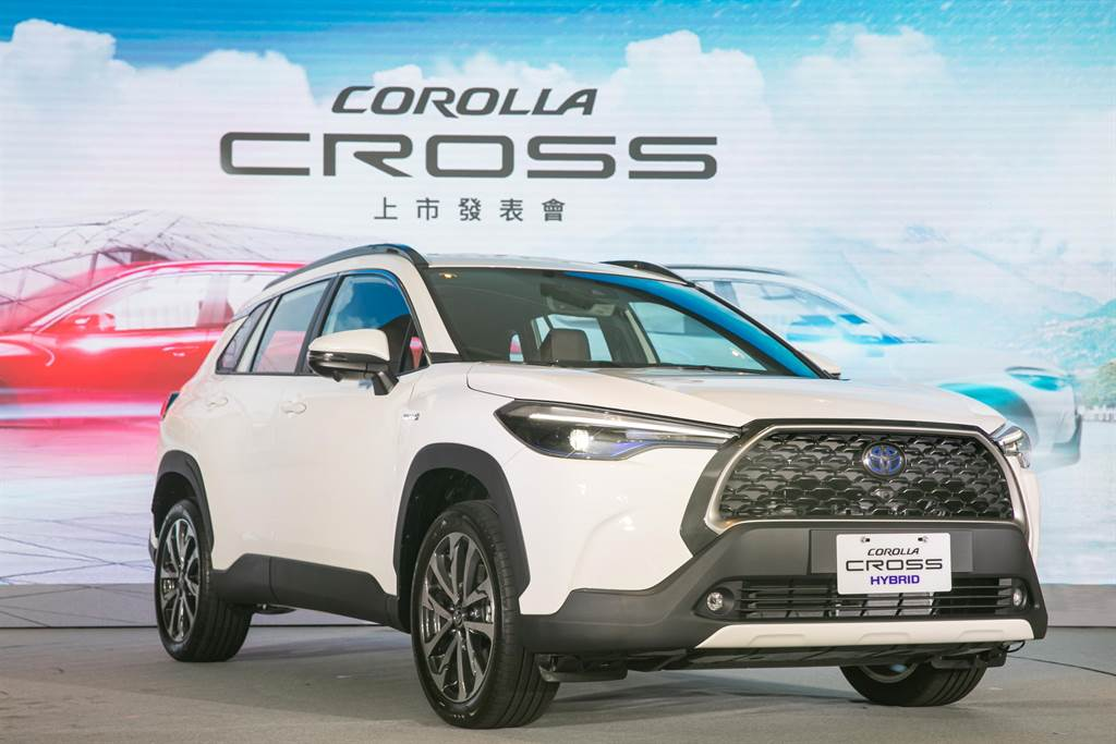 年末車市熱! TOYOTA COROLLA CROSS 單月5,319台再創新紀錄