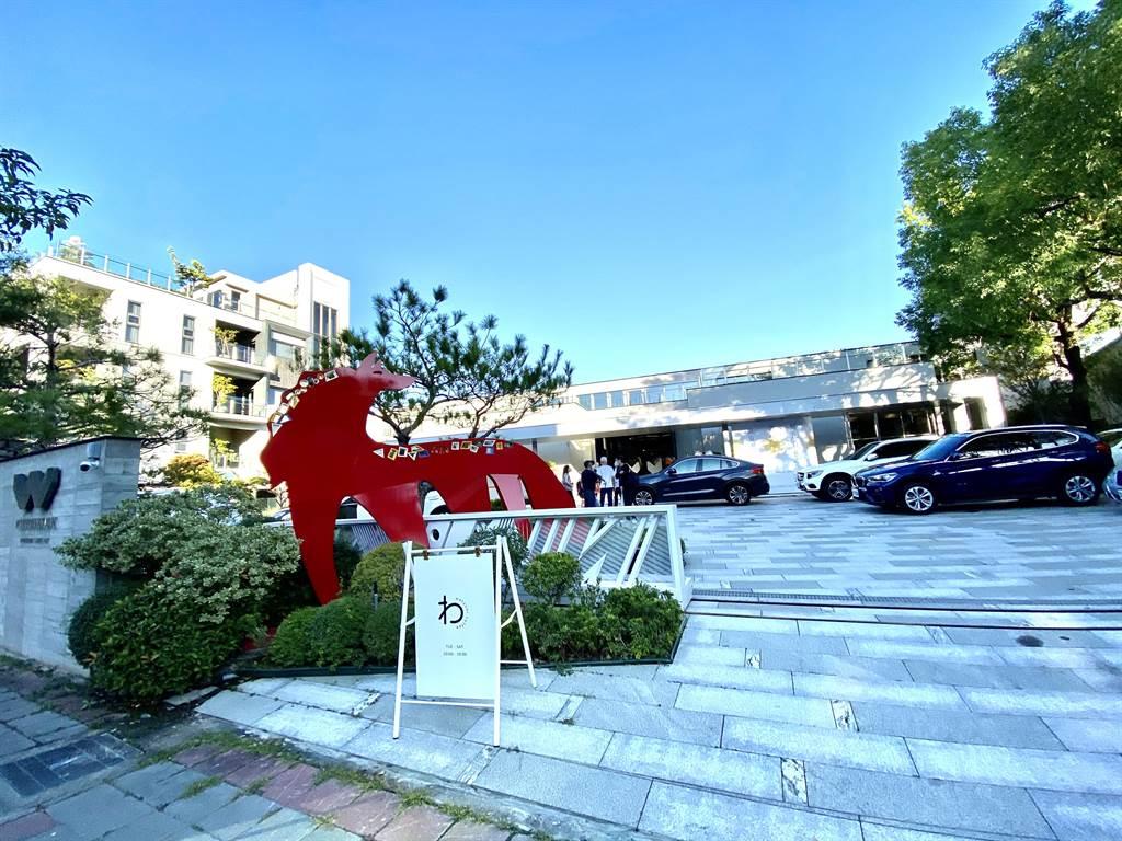 勝群多功能展館心靈饗宴的場域,未來將結合公益打造成北屯區美學地標。(盧金足攝)