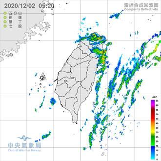 北北基宜花防豪大雨 入冬最強冷空氣周四到 下探13度