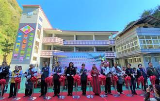 泰興國小新教學大樓落成  建築融入泰雅三寶意象