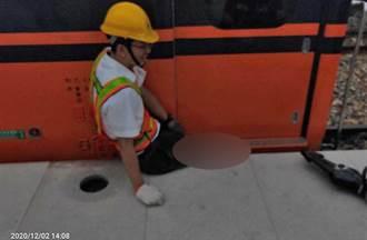 鳴日號列車屏東測試傳意外 台鐵員工大腿卡月台遭車廂夾傷