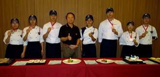 正修餐飲2020國際菁英廚藝競賽 奪2銀4銅
