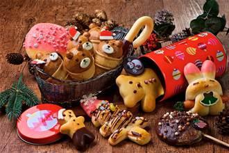 萌到捨不得吃 東區人氣麵包坊的耶誕商品限量開賣啦