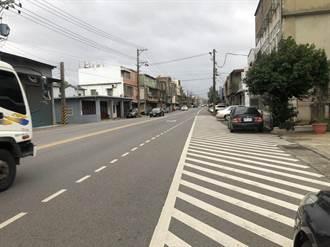 新屋中山路車道縮減屢傳車禍 交通局決定這樣做!
