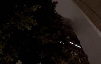 北市大安區16樓民宅火警  警消滅火無人受困