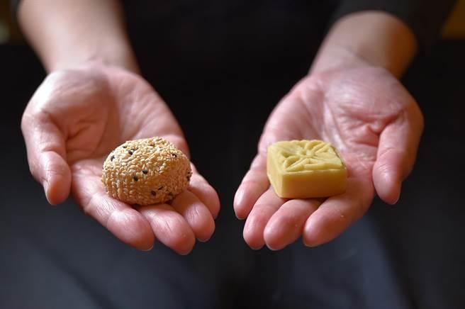 除西式甜點外,〈遠東Cafe'〉自助餐廳的「繽紛甜點區」亦有多種中式甜點可供選擇,精緻小巧、非常誘人。(圖/姚舜)