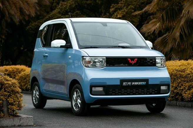 宏光Mini EV價格超親民,在大陸電動車月銷量榜拿下3連霸。(翻攝上汽通用五菱官方網站)