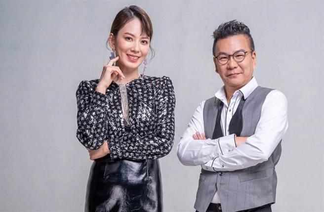 沈玉琳和Melody主持《11点热吵店》。(图/本报系资料照)