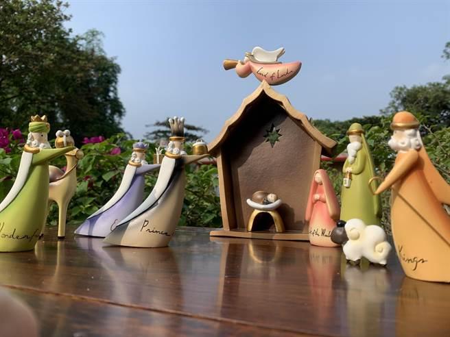 白馬寵物樂園設小教堂供禮拜。(柯宗緯翻攝)