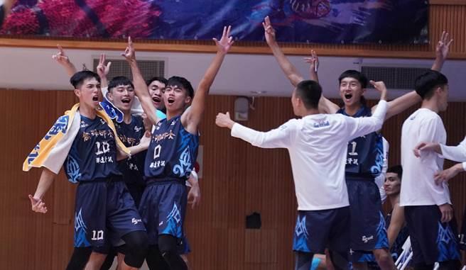 高雄師大擊敗中州科大奪本季首勝。(大專體總提供)