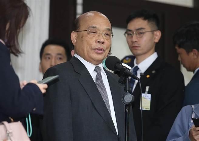 行政院長蘇貞昌。(本報系資料照)