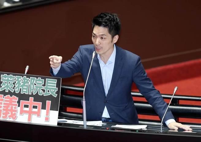 立委蒋万安被看好可轻取台北市长。(资料照,姚志平摄)
