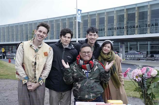 《跟你老婆去旅行》由林孝謙執導,找來鳳小岳、陳妍希、張書豪主演。(好好看文創提供)