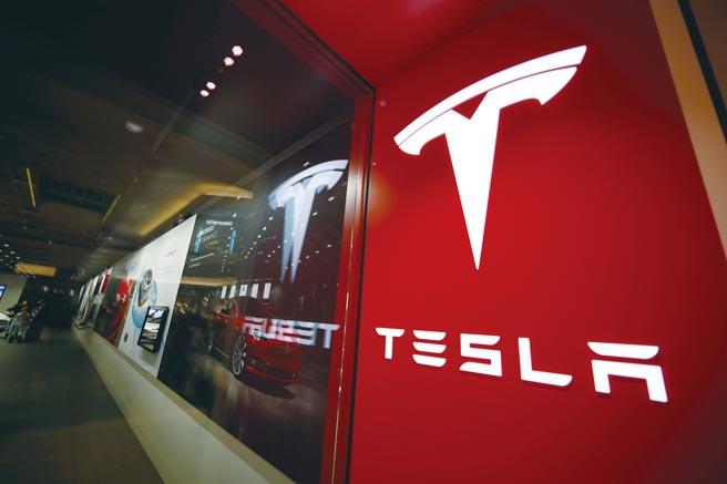 特斯拉(Tesla)獲納標普500指數。圖/美聯社