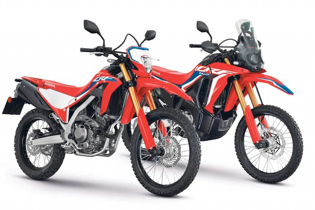 Honda Motorcycle 2021年式 CRF300L/CRF300 RALLY 越野本質 預接開跑