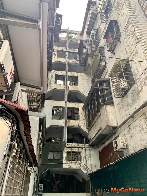 中視新都會為樓高5~7層、174戶之屋齡30年公寓社區,基地面積超過3000坪,建物老舊(圖/台北市政府)