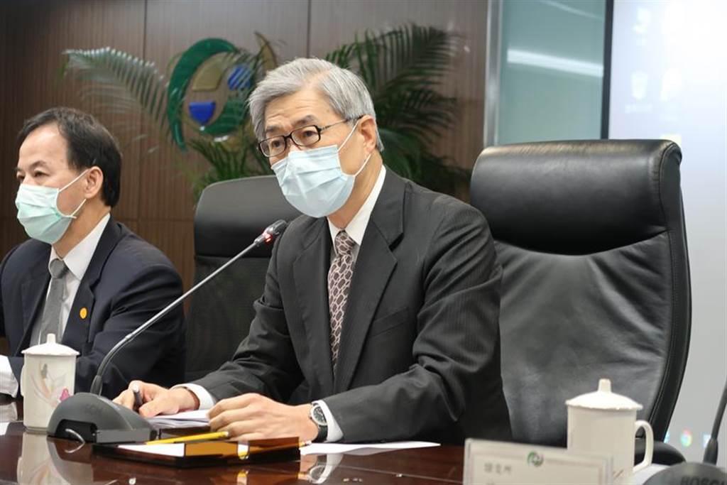 (金管會主委黃天牧宣布2021年台灣創新板與戰略新板開板。圖/魏喬怡)