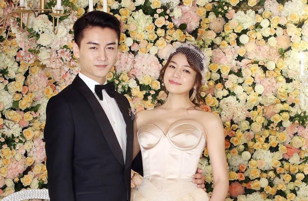 陳妍希和陳曉因合作《神鵰俠侶》定情,小倆口結婚4年,育有兒子「小星星」。(圖/本報系資料照片)