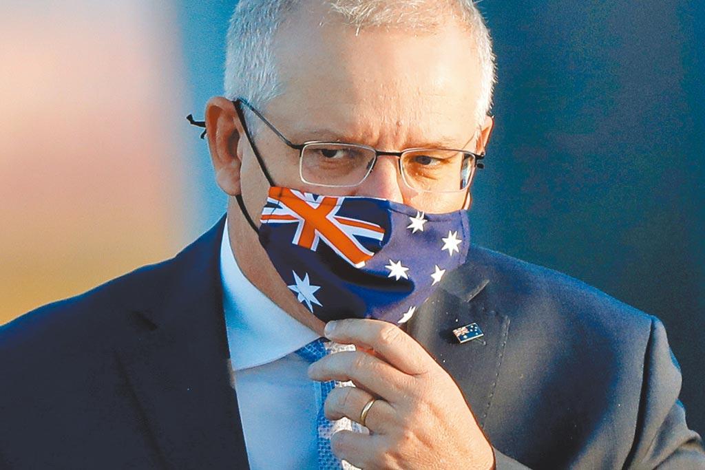 澳洲總理莫里森。(路透)