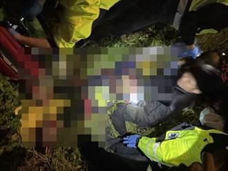 新北大橋驚傳墜落事故 33歲男倒草叢送醫不治