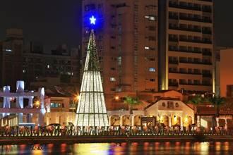 台南聖誕燈節6日開跑 首度移師運河畔廣8河樂廣場