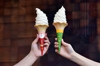 麥當勞大玩萌行銷 大蛋捲冰淇淋耶誕新裝亮相