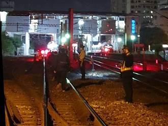 台鐵車輛因異物入侵停駛 竟是人為搞「軌」
