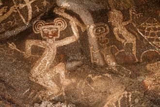 雨林發現巨型壁畫 揭1.2萬年前滅絕動物原貌 考古學家驚嘆