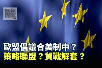 無色覺醒》賴岳謙:歐盟倡議合美制中?策略聯盟?貿戰解套?
