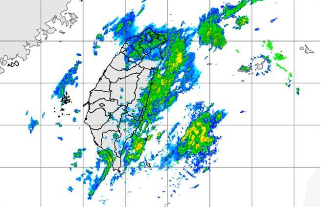 受東北季風影響,今桃園出現14.1度,明晨更冷。(中央氣象局提供)