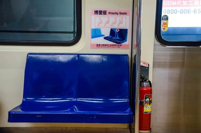 一名女網友表示看到博愛座一定會坐下,理由曝光後不少網友都贊同她的想法。(圖/示意圖,達志影像)