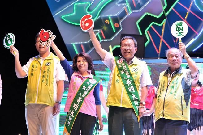 高雄市民進黨議員黃明太。(圖片摘自黃明太臉書)