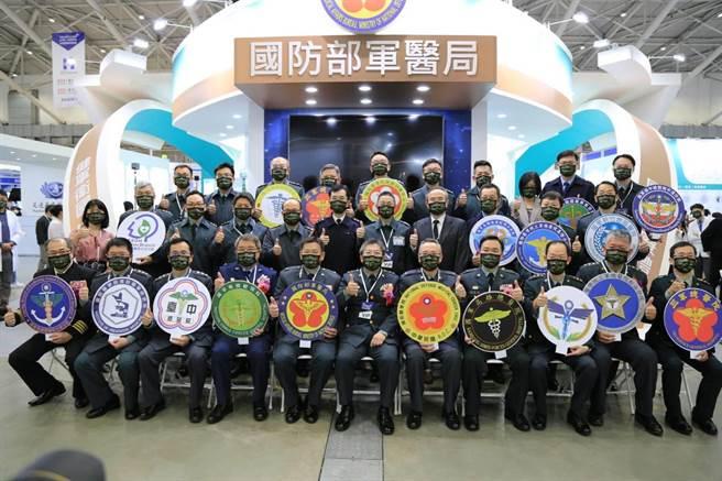 軍醫局領銜參加台灣醫療科技展行銷國軍醫學。(主辦單位提供)