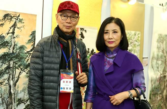 汪明荃與羅家英夫妻倆,在香港娛樂圈地位崇高。(中時資料照片)
