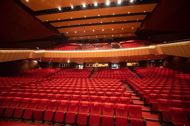 基隆文化中心是基隆最大型演藝與展覽空間,35年來都未進行過大型整修,這次演藝廳整改建,將更新座位與位置調整、舞臺及梯間重新設計規劃。(吳康瑋攝)