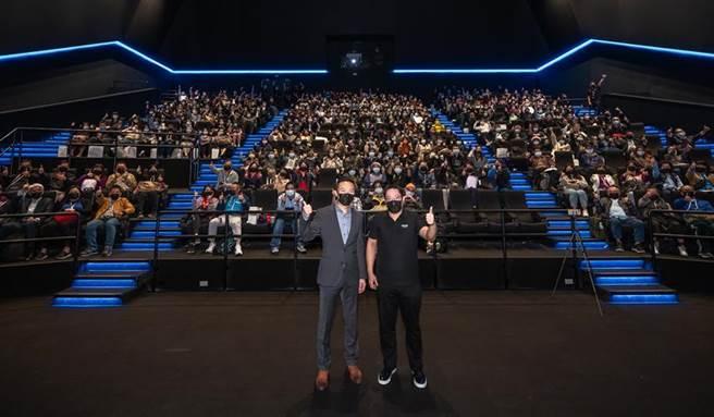 (新光影城杜比影院3日開幕,322個座位坐無虛席。圖/新光影城提供)