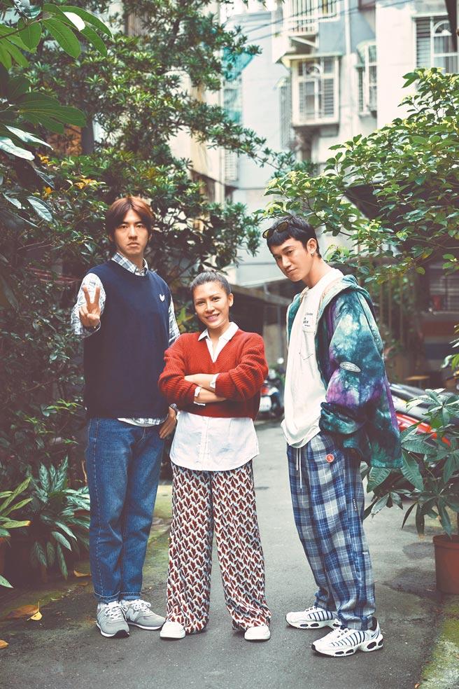 《我沒有談的那場戀愛》由傅孟柏(左起)、艾怡良、吳慷仁主演。(資料照片)