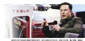 穆斯克:汽車若完全電動化 全球電力需求多1倍
