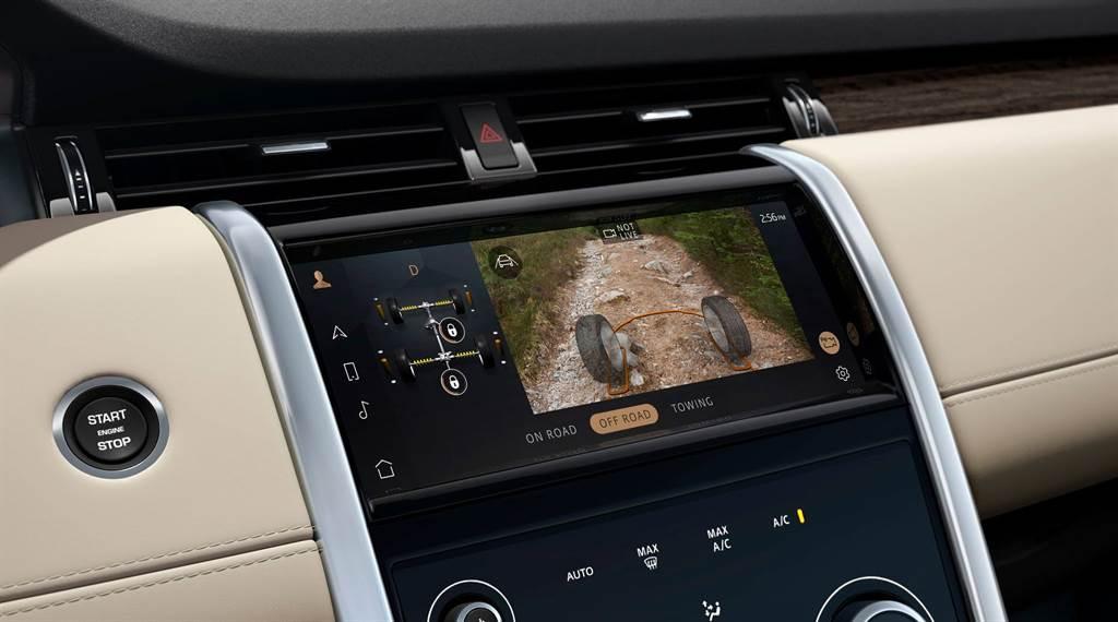 升級標配 360º 3D 環景顯示含 ClearSight 對地視野與水深偵測系統。