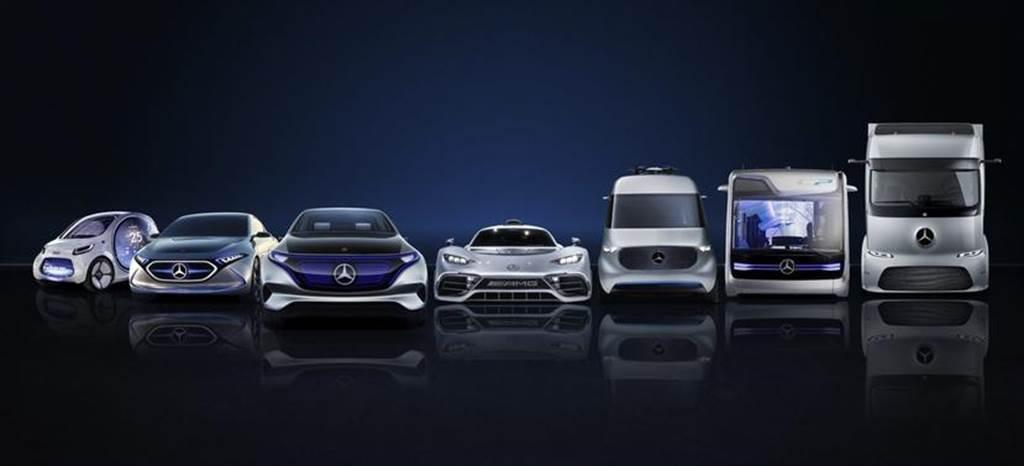 賓士母公司砸 2.4 兆元加速電動化轉型,卡車部門的電動化也是重點之一