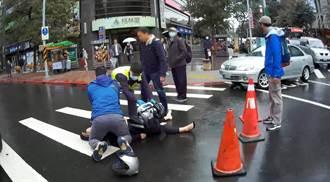 婦人昏倒路口無生命跡象 幸運遇休假消防、醫師從死神手中救回