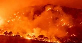 加州又有森林大火!今年逾6500平方英里土地燒焦、至少31死