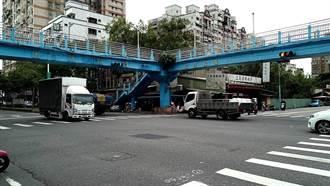 三峽光明陸橋使用率低 區公所擬封閉1個月